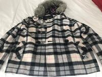 PINK (Victoria Secret) Short Winter Jacket with artificial fur. Toronto, M5S 3M4