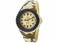 New ToyWatch Unisex Jelly Army 43mm Watch Manassas, 20109