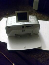 Hp photo printer needs power cord and ink Warr Acres, 73122