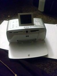 Hp photo printer needs power cord and ink