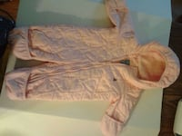 Baby Gap Quilted Heart Snowsuit... EUC  Oshawa, L1J 4Z3