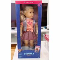 American Girl Tenney Doll with Book 18 inch doll - Retired 540 km
