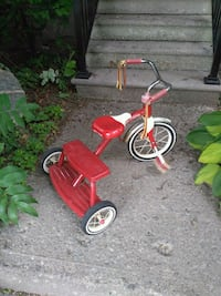 toddler's red and white trike Ontario, M4C 4Z2