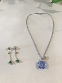 Swarovski crystal necklace and earrings. Necklace $75. Earrings $70   Las Vegas, 89147