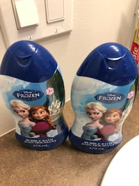 Frozen bubble bath 473ml two bottles. Brand new. Price for both is $4 Burnaby, V3N 0G5