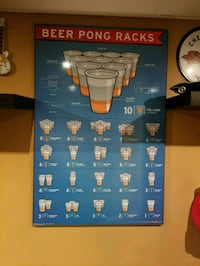Beer pong racks sign mint condition  Scarborough, M1B