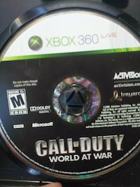 Call of Duty Black Ops 3 Xbox 360 game disc Guelph, N1E 1N4