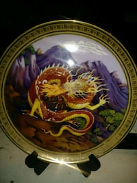 """Cornwall 1981 """"fire"""" plate Monterey, 38574"""