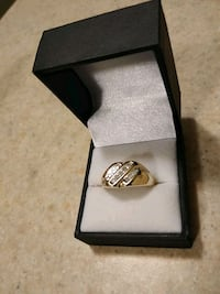 silver and diamond ring in box Anchorage, 99517