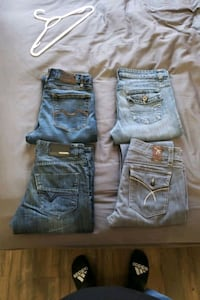 Mens and womens jeans