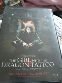 DVD Girl w/ the Dragon Tattoo