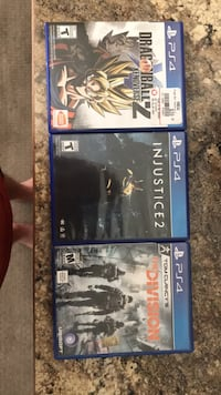 Three games sold together or separate  Jackson, 83001