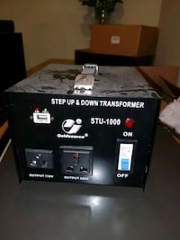 Step Up & Down transformer 110v 220v voltage