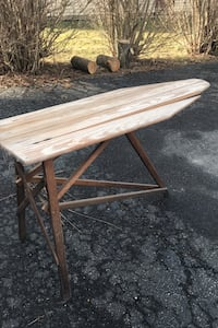 Wooden Iron board Old