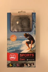 Waterproof HD sports camera