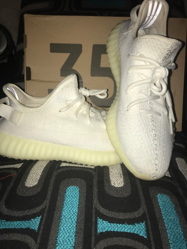 b9534362e82 Used Authentic Adidas Yeezy Boost 350 triple white cream sz10 for sale in  Marietta - letgo