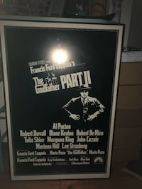 Movie posters framed