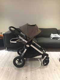 Baby Jogger City Select with brand new dual seat 3732 km
