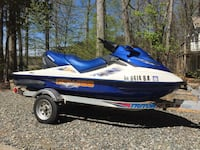 2003 SeaDoo GTX 4-TEC Vans Triple Crown.  With trailer and cover. Chantilly, 20151