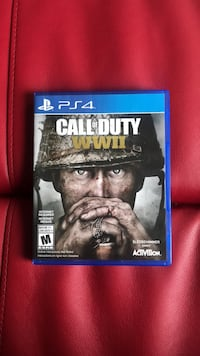 Ps4 call of duty wwii case Mississauga, L5M 5C5