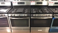 New Ge stainless steel gas stove Reisterstown, 21136