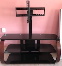 black glass TV stand with mount Anaheim, 92805