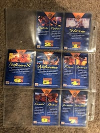 1994 fleet ultra x-men cards Alexandria, 22309