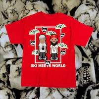SUKAMII x SKI MEETS WORLD COLLAB TEE Buena Park