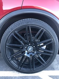 """Curva Collection 22"""" rims (set of 4) 5 lugs RIMS ONLY North Las Vegas"""