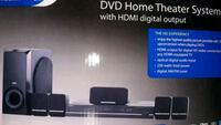 Surround sound amplifier DVD player theater system Mineola, 11501