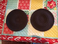 2 brown serving trivets Jacksonville, 32257