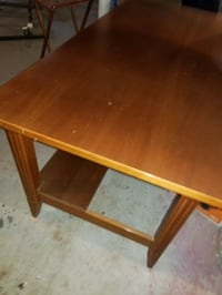Used solid wood desk with shelf  Hagerstown, 21740