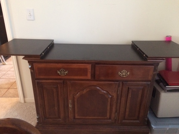 Used Dining Room Set Table 6 Chairs Buffet China Cabinet For Sale In Plymouth Charter Township