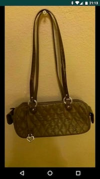 Brighton- Quilted Brown Leather purse San Antonio, 78229