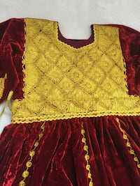 Red and yellow floral short sleeve dress Mississauga, L4Z 4J1