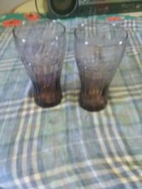 Vintage Purple Coca Cola Pr Glasses Seymour, 37865