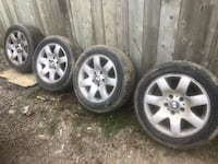 "16"" 7 spoke mounted and balanced used bmw tires Mississauga, L5E 1C3"