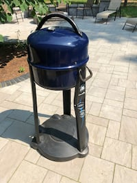 Electric grill, ready for a cookout !