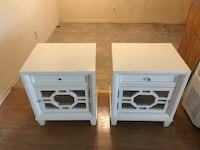 Two piece nightstand
