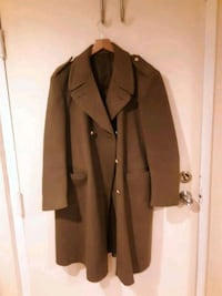 brown button-up coat Washington, 20010