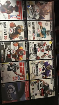 Ps2 games Lot 21 Aliquippa, 15001