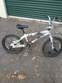 white and black Mongoose BMX bike Knoxville, 37921