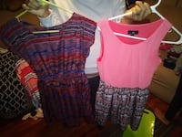 2 Size small junior dresses.15 for both. Seymour