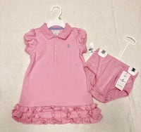 88d445772 Used Polo Ralph Lauren Infant Girls Dress - Size 18mo for sale in ...