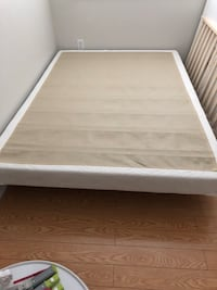Double mattress box spring and bed rails  Vaughan, L4H 3P6