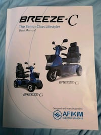 breeze c3 new have used it about five times  Calgary, T2N 2A1