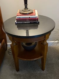 Night Stand/Side Table (Granite Top)