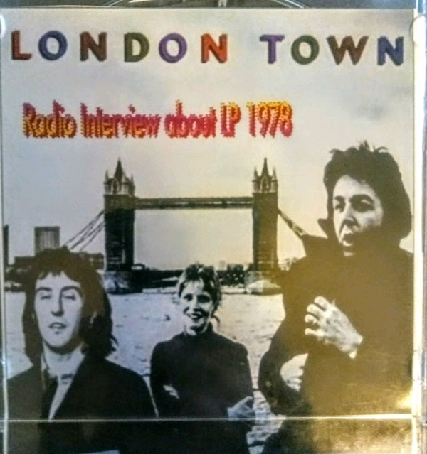 RARE CD London Town Interview. 78