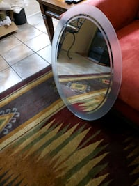 Mirror Oval shaped