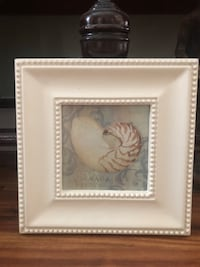 White and brown painting with frame Gainesville, 32605